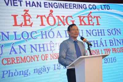 Lễ tổng kết dự án NSRP & TB1 và khởi công VHE factory