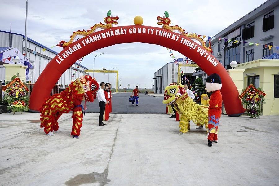 khánh thành Công ty TNHH Kỹ thuật Việt Hàn