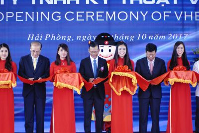 Viet Han Engineering Company Limited took place inauguration of the VHE Steel Structure Factory.
