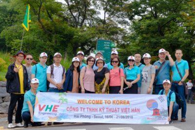 Du lịch Hàn Quốc kỷ niệm 10 năm thành lập Công ty VHE